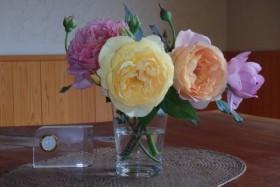 K様にいただいたお花です